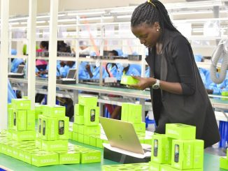 Inside Uganda's first mobile phone assembly plant