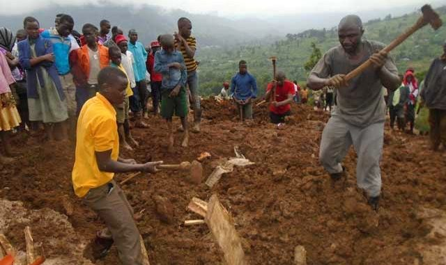 Two more bodies recovered, over 30 still missing in Bududa landslides