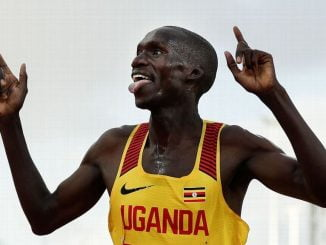 Uganda's Joshua Cheptegei breaks 10km world record in Valencia