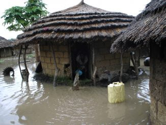 What triggered floods in Uganda