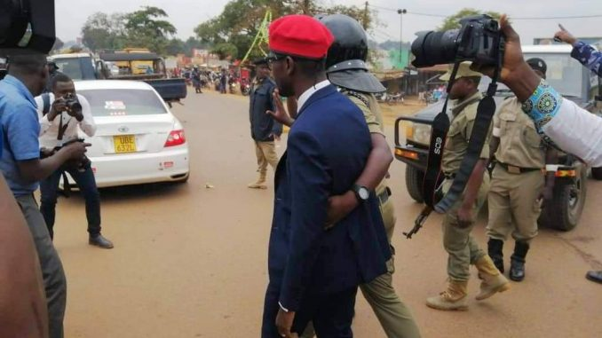 Bobi Wine arrested ahead of his scheduled consultative meeting