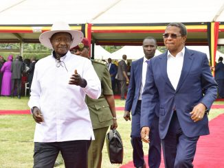 "Ugandans must stop living ""a harsh life,"" says Museveni"