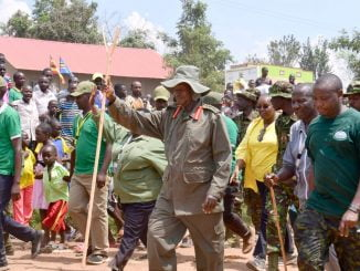 Museveni, bush war veterans end six day long trek
