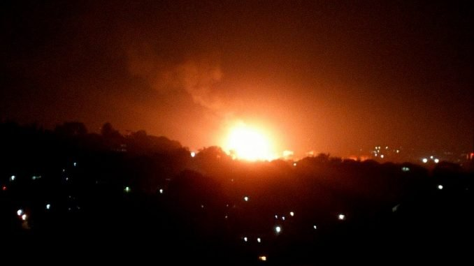 Close to 60 gas cylinders involved in Kisaasi explosion