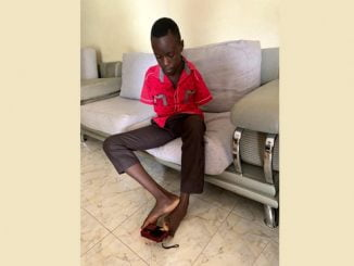 Limbless PLE star counting fortunes as Rukutana adopts him
