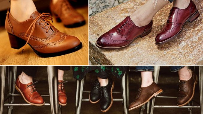 5 ways to pull off women's Oxfords