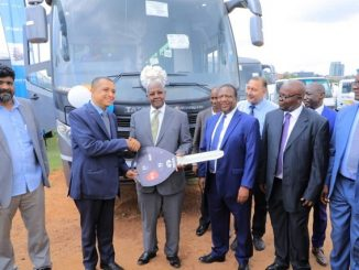 India High Commission hands over 88 vehicles to Uganda